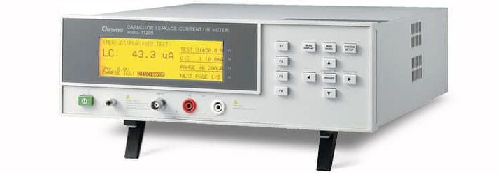 Capacitor Leakage Current/Insulation Resistance Test From MDL