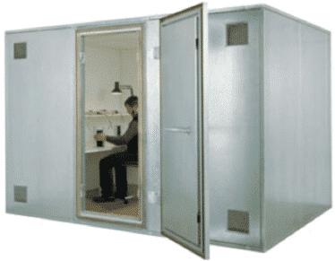 Rf Shielded Construction Hot Galvanized Steel And Aluminium