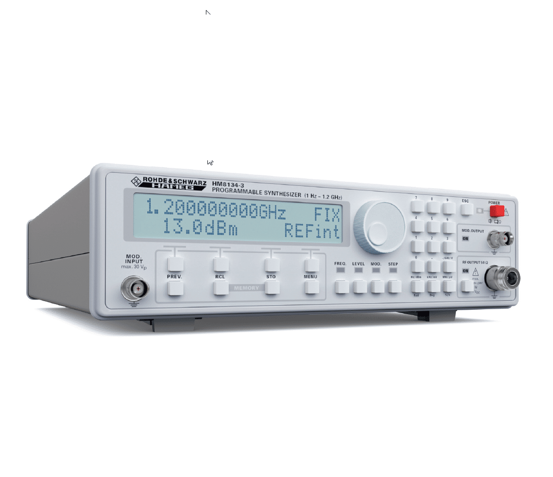 Function Generators From Mdl Technologies Hm8134 3 Rf Synthesizer