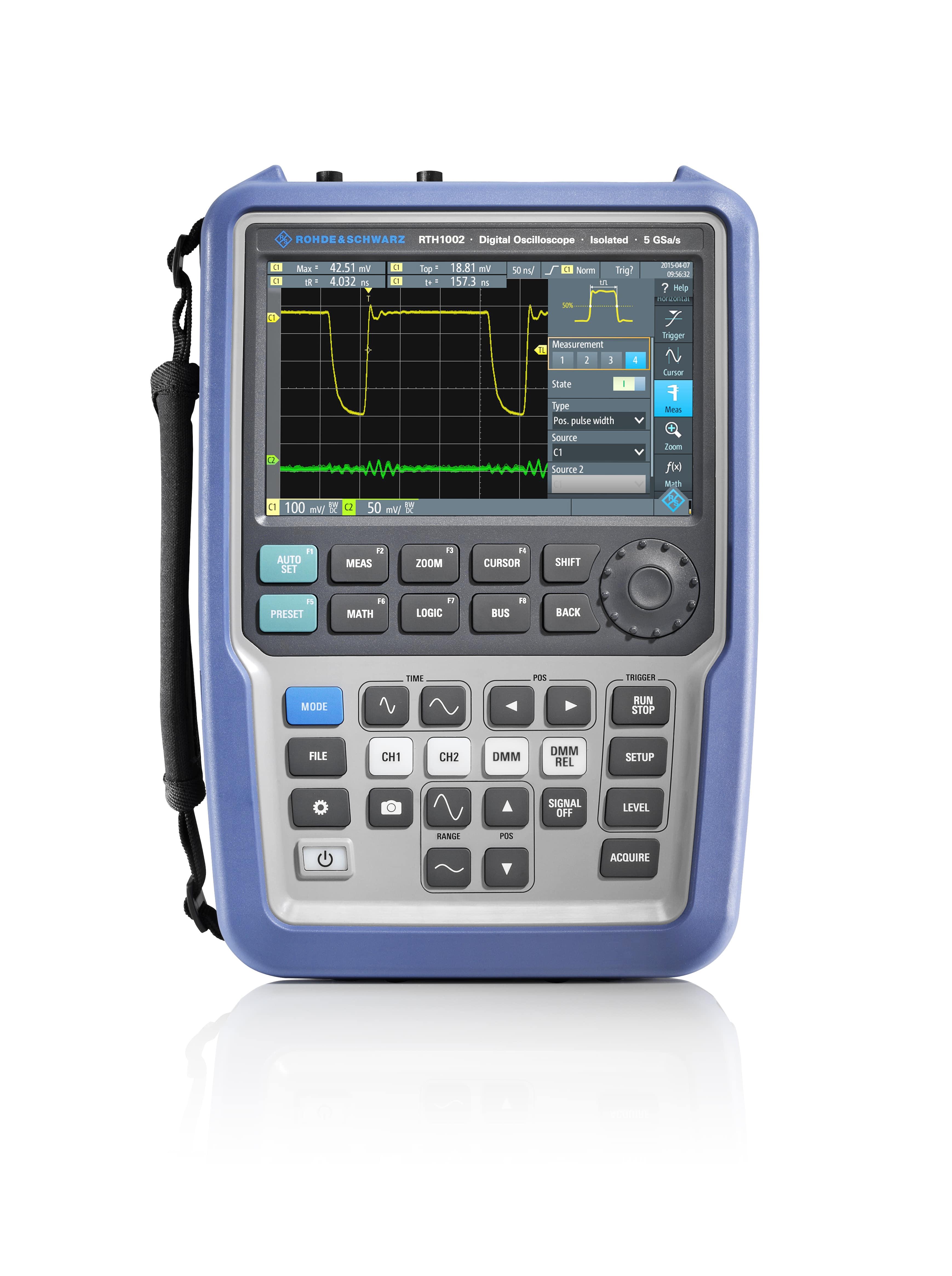 Digital Handheld Oscilloscopes