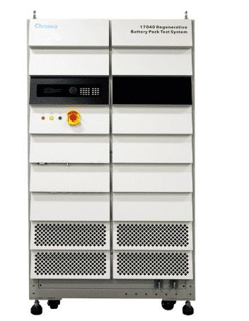 Regenerative battery test system
